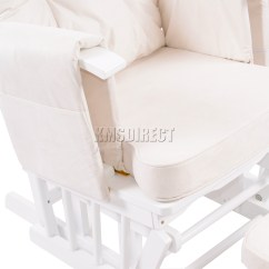 Maternity Rocking Chair Summer Cushions Foxhunter Nursing Glider With