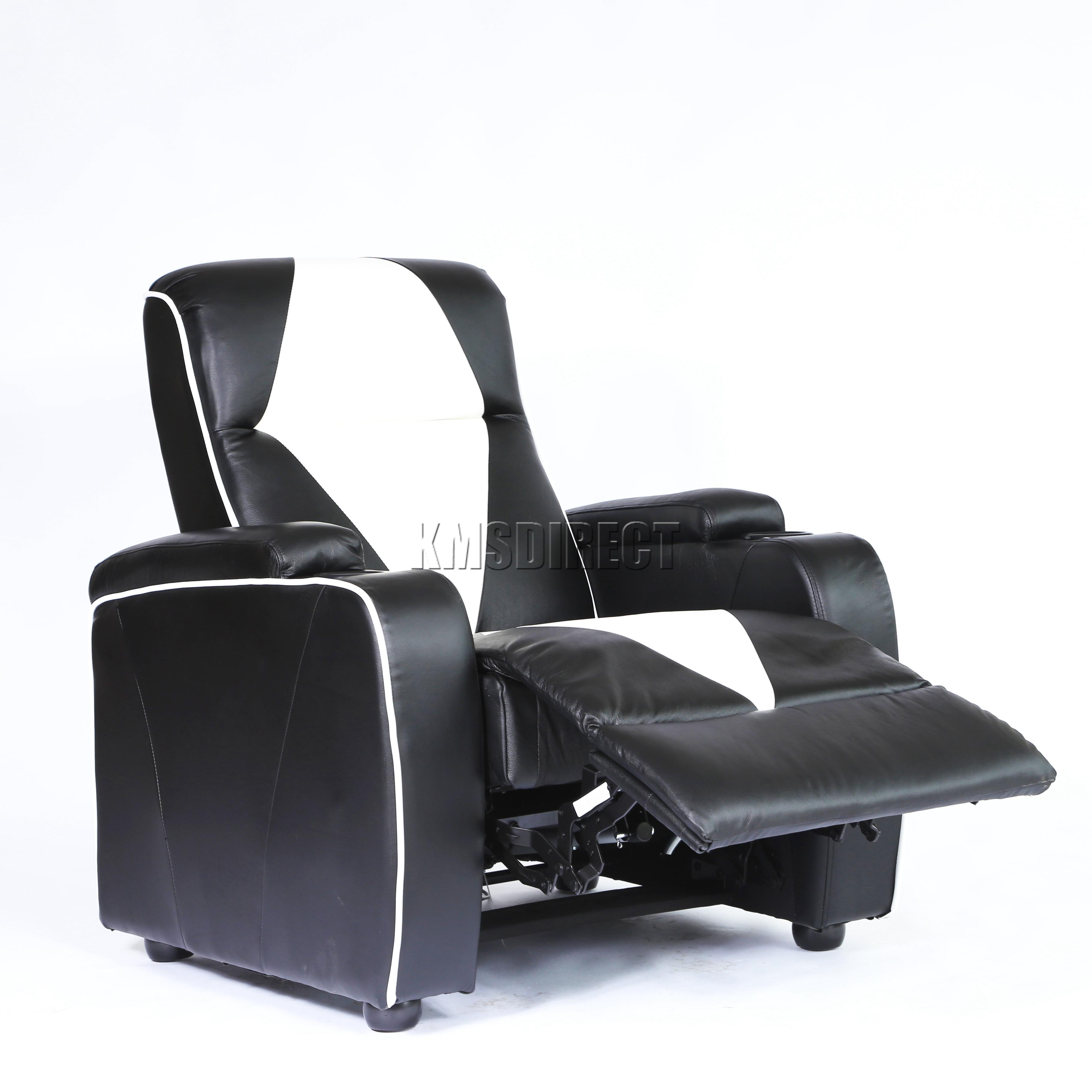 electric recliner sofa not working black velvet corner foxhunter leather retro theatre cinema movie chair