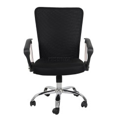 Fabric Desk Chair Baby That Attaches To Table Foxhunter Computer Executive Office Mesh