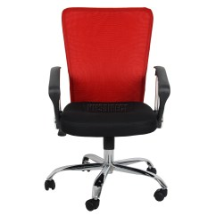 Home Office Chair No Wheels Uk Oversized Chairs With Ottomans Foxhunter Computer Executive Desk Mesh Fabric