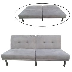 Faux Suede Sofa Cleaning Instructions Seat Support Recliner 2 Seater Roma 3 1 Bonded