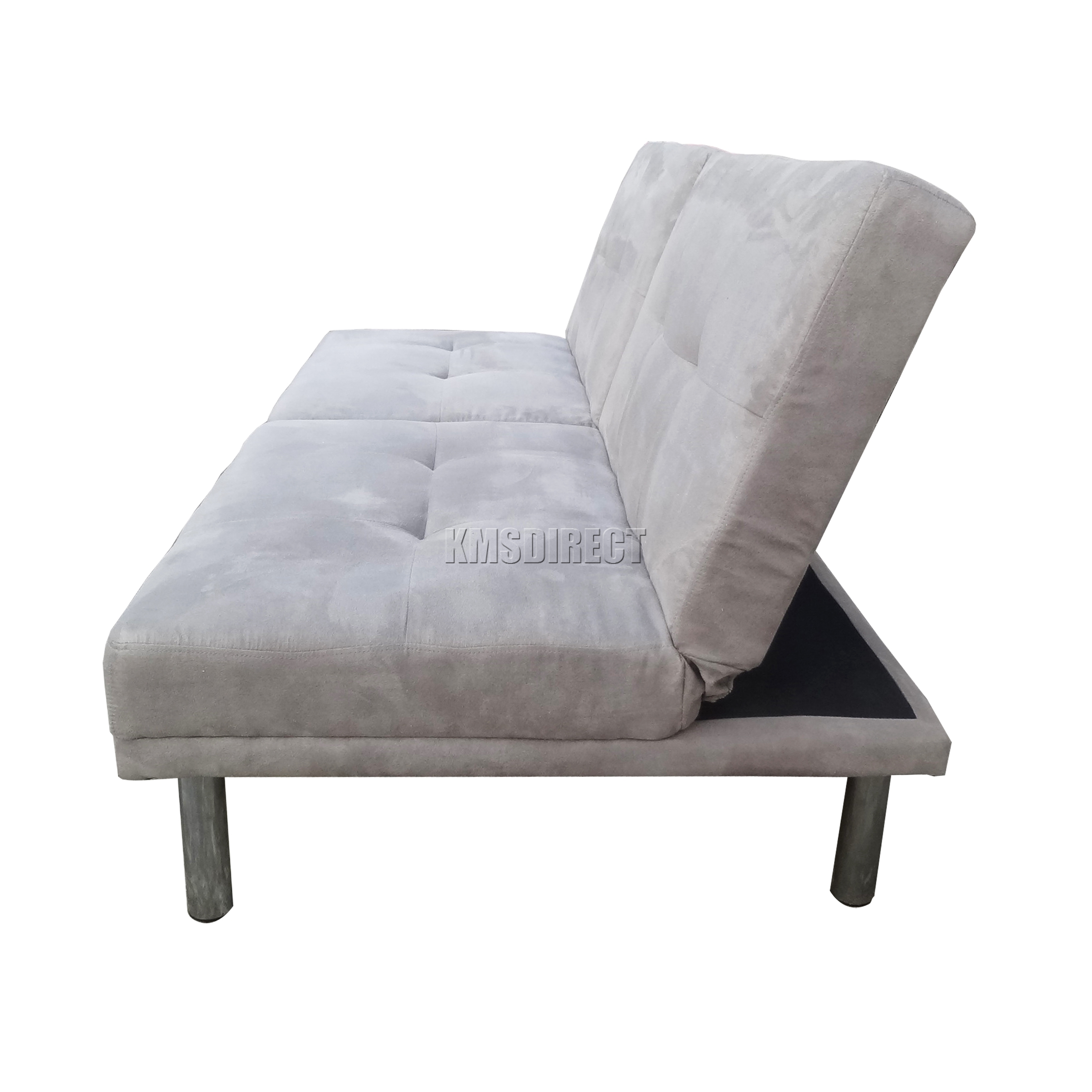 suede sofa fabric king podcast reddit foxhunter faux bed recliner 2 seater
