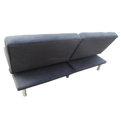 Suede Sofa Fabric Intex 68575 Inflatable Corner Foxhunter Faux Bed Recliner 2 Seater