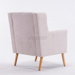 Tub Chair Covers Ebay Svan Baby To Booster High Foxhunter Linen Fabric Armchair Dining Living