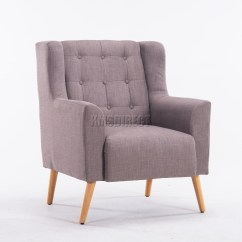 Tub Chair Covers Ebay Eames Soft Pad Management Replica Foxhunter Linen Fabric Armchair Dining Living