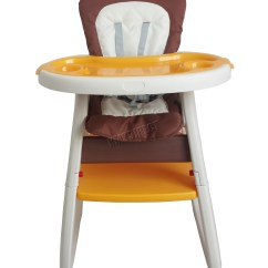 Toddler Chair And Table For Eating Walking Stick Malaysia Foxhunter Baby Highchair Infant High Feeding Seat 3in1