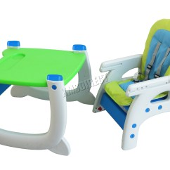 Baby Highchair 3 In 1 Recliner Chair Armrest Covers Foxhunter Infant High Feeding Seat 3in1