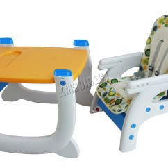 Toddler Chair And Table For Eating Amazon Stacking Covers Foxhunter Baby Highchair Infant High Feeding Seat 3in1