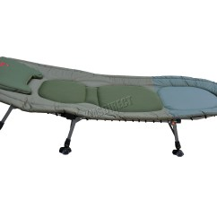 Fishing Chair With Adjustable Legs Bedroom Chairs Portable Carp Bed Bedchair Camping 6