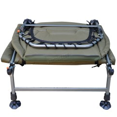 Fishing Chair Bed Reviews Cushions For Dining Chairs Portable Carp Bedchair Camping 8