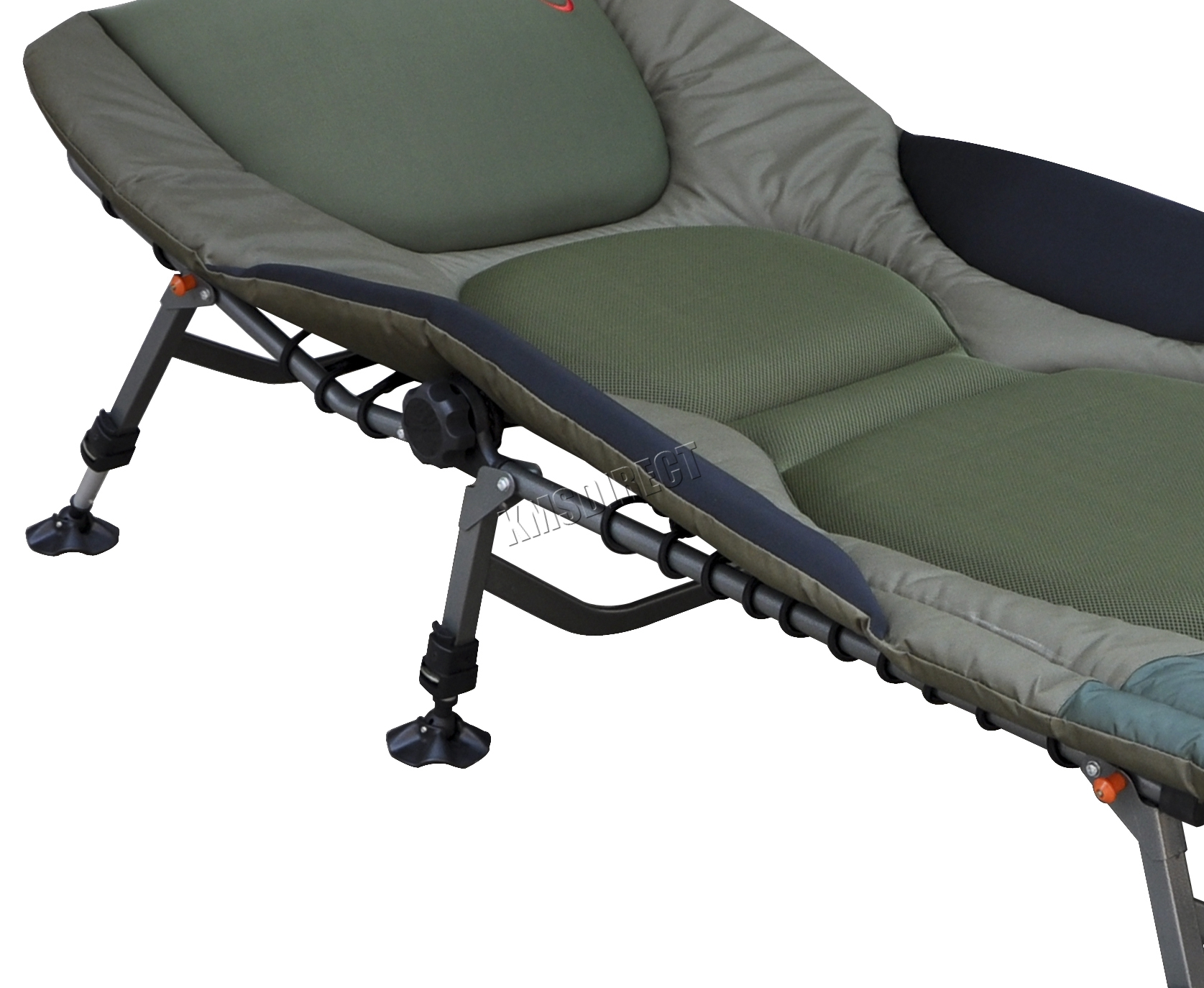 fishing chair bed reviews coccyx kneeling portable carp bedchair camping 8