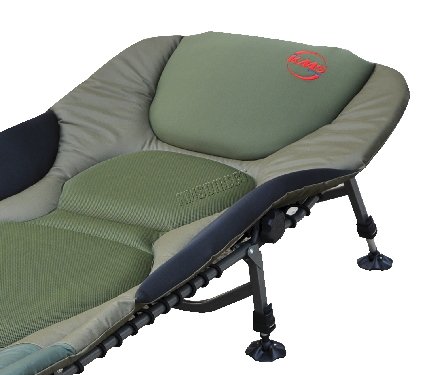 office chair neck support reclining desk portable carp fishing bed bedchair camping 8 adjustable legs pillow fb-022