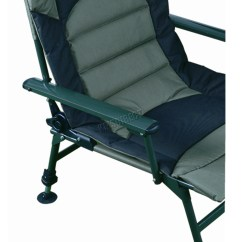 Fishing Chair With Arms Modern Leather Dining Chairs Australia Xl Carp Arm Rests Folding Camping Recliner 4