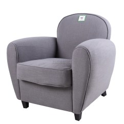 Tub Chair Grey Cover Rentals Ma Foxhunter Linen Fabric Armchair 2094 Sofa Dining