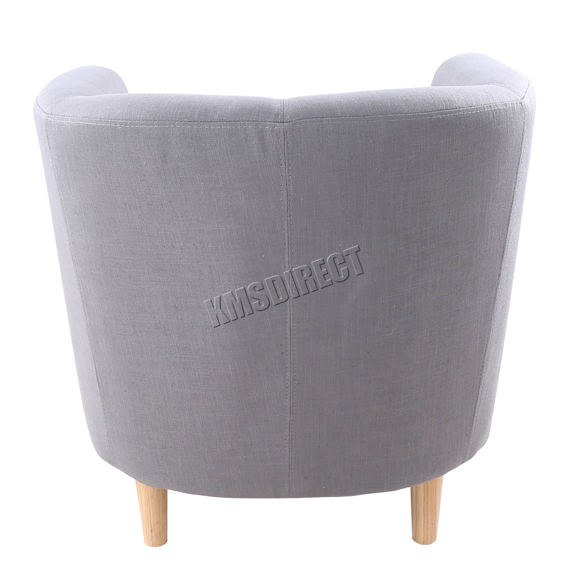 tub chair covers ebay indoor swing uk foxhunter linen fabric armchair dining living