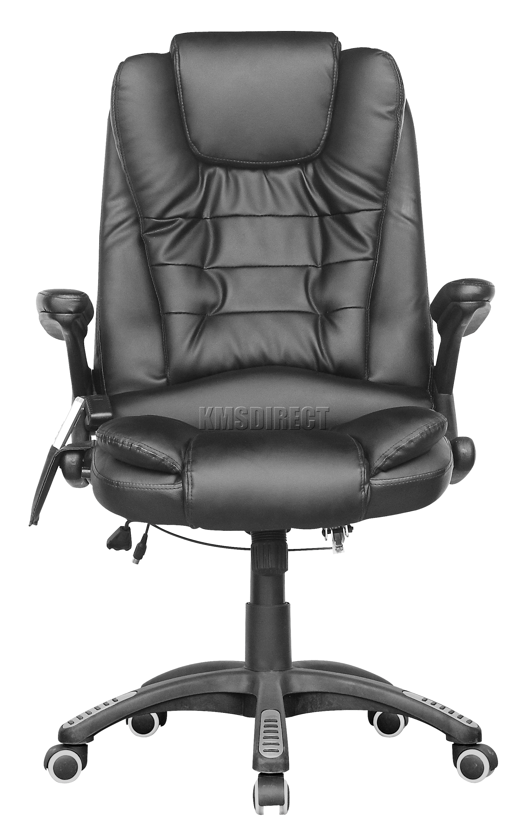 luxury office chairs uk hanging chair tauranga foxhunter black leather 6 point massage
