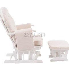 Office Chair Support For Pregnancy Deck Chairs Sainsburys Foxhunter Nursing Glider Maternity Rocking With