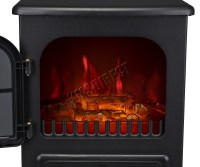 Log Burning Flame Effect 1850W Electric Fire Heater ...