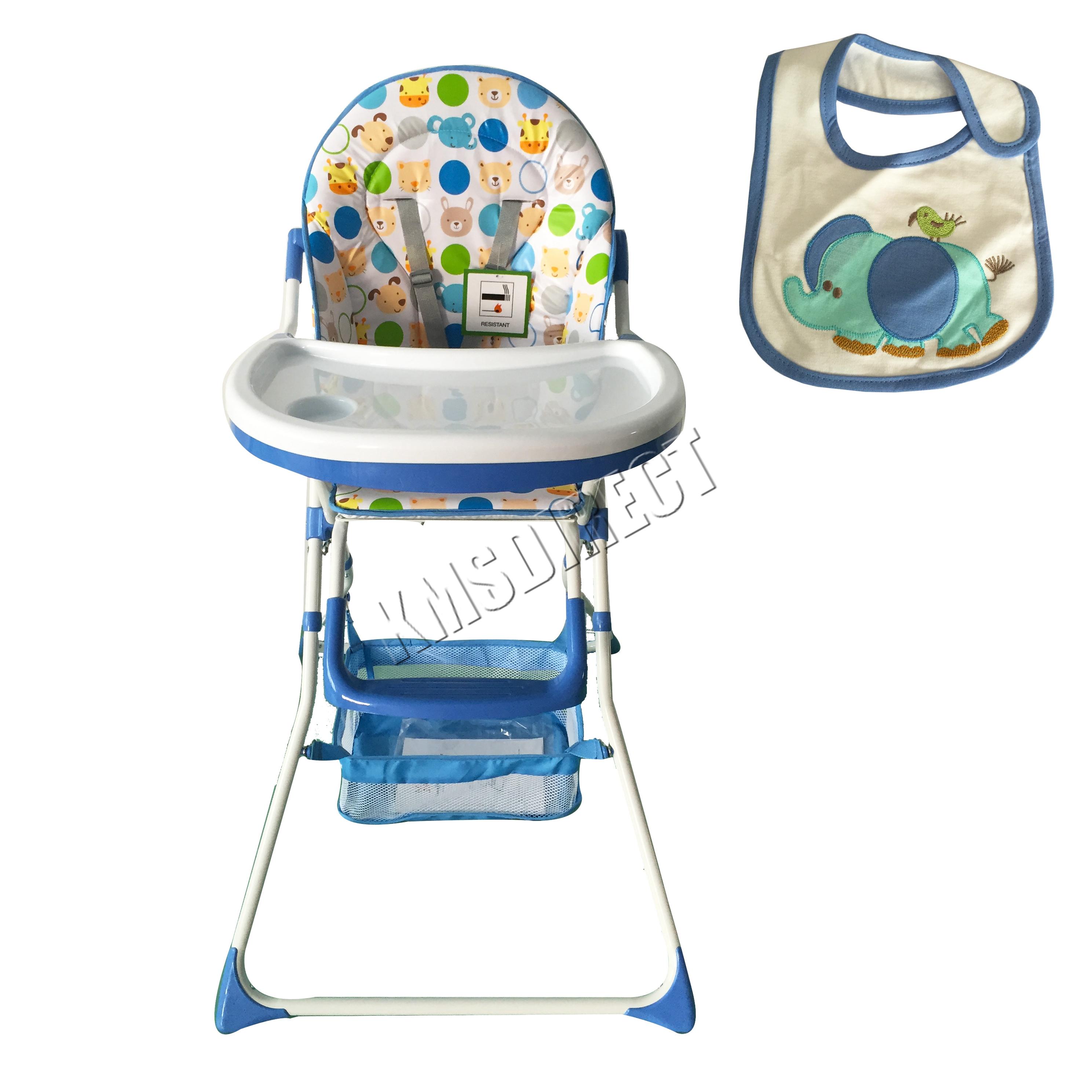 portable baby chair walmart parson chairs foxhunter high infant child folding
