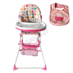 Portable High Chair Baby Oversized Comfy Foxhunter Infant Child Folding