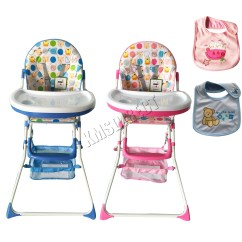 Portable Folding High Chair Conference Chairs Foxhunter Baby Infant Child