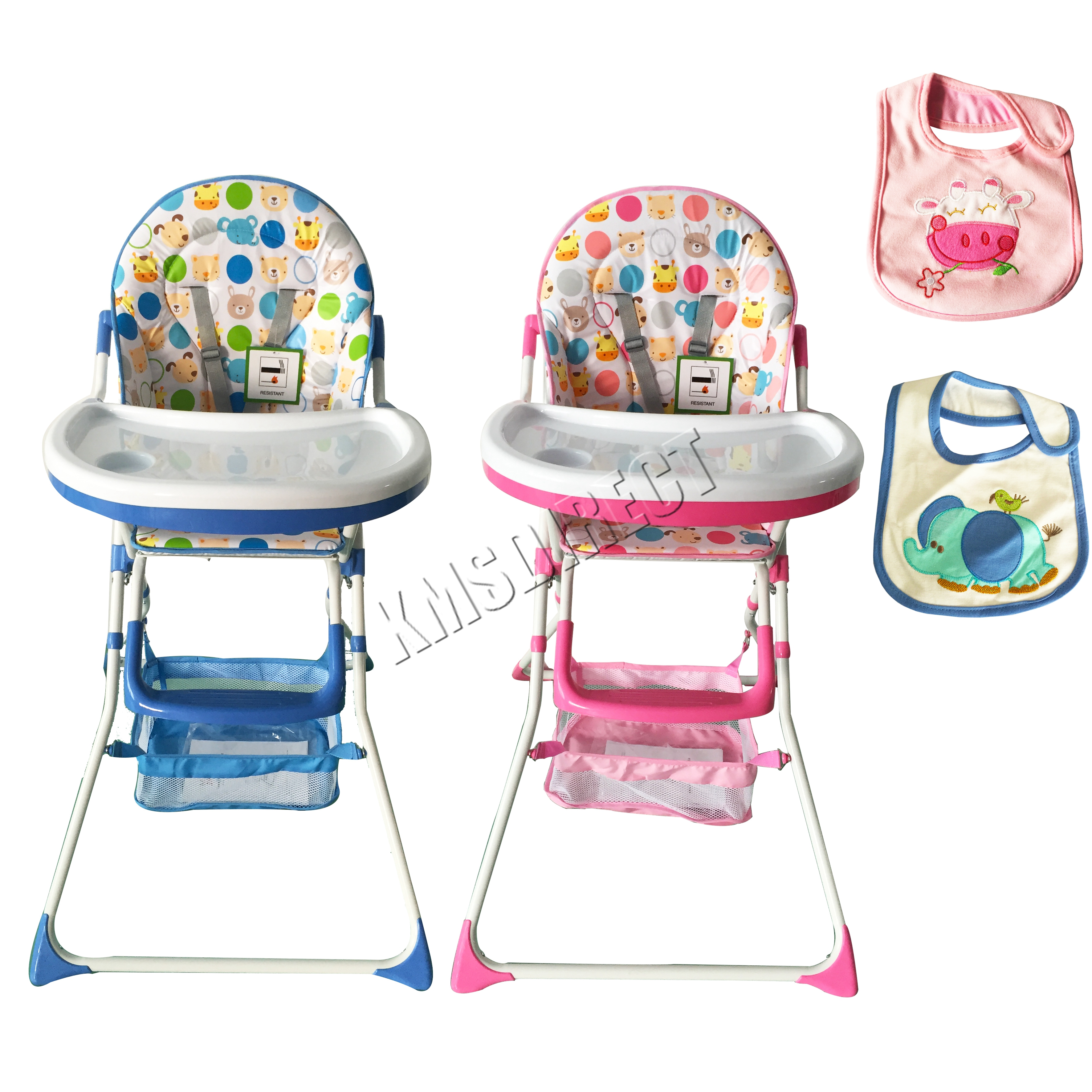baby high chair for eating wwe toys ladders chairs and tables foxhunter portable infant child folding