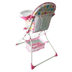 Portable Baby High Chair Printed Accent Chairs Foxhunter Infant Child Folding