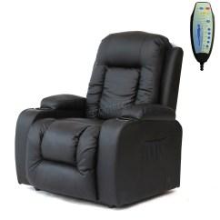 Handicap Lift Chair Recliner Fishing Exercises Faux Leather Massage Rise Mobility Tilt Arm