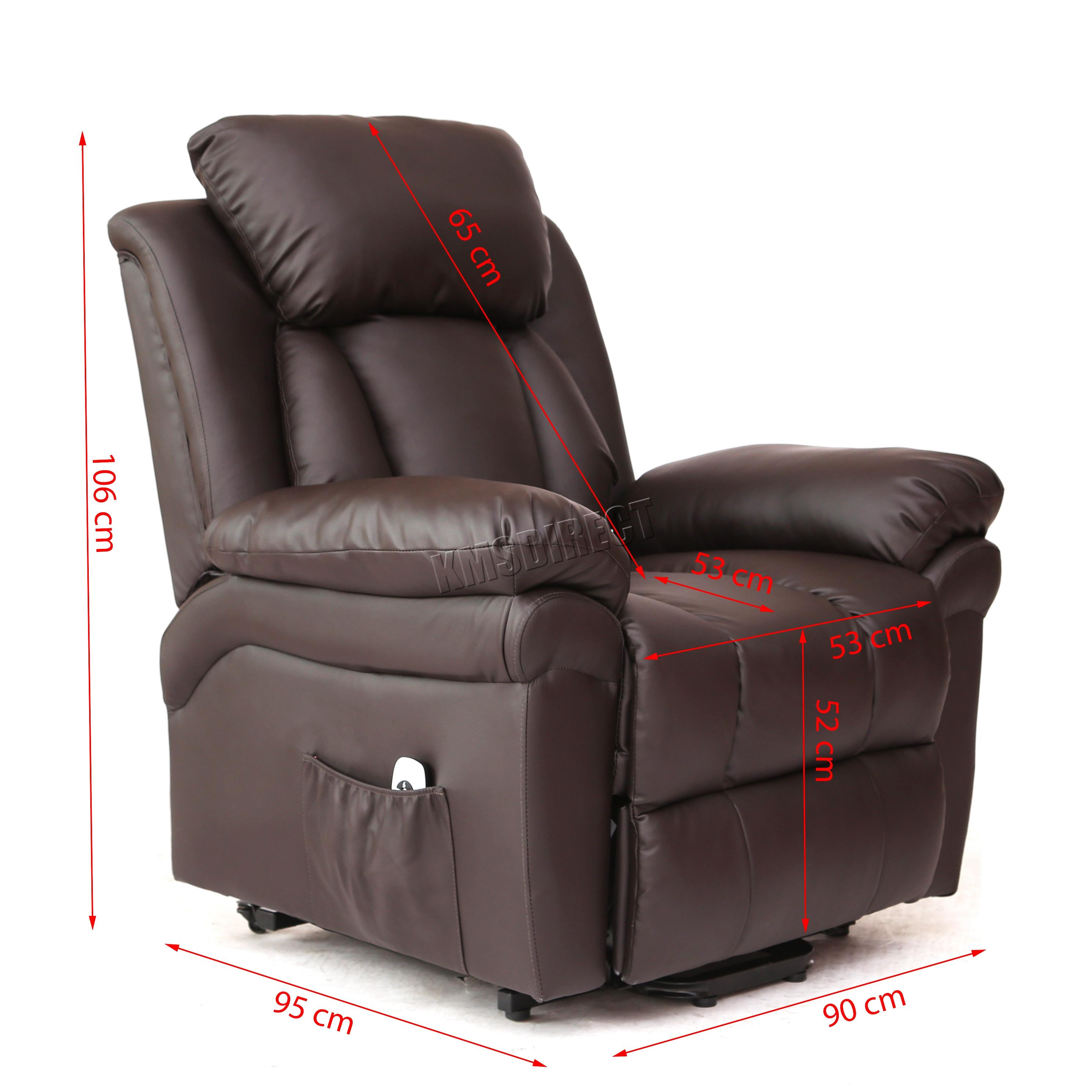 handicap lift chair recliner 12 chairs nyc faux leather massage rise mobility tilt arm