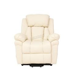 Handicap Lift Chair Recliner Baby Shower Decorations Faux Leather Massage Rise Mobility Tilt Arm