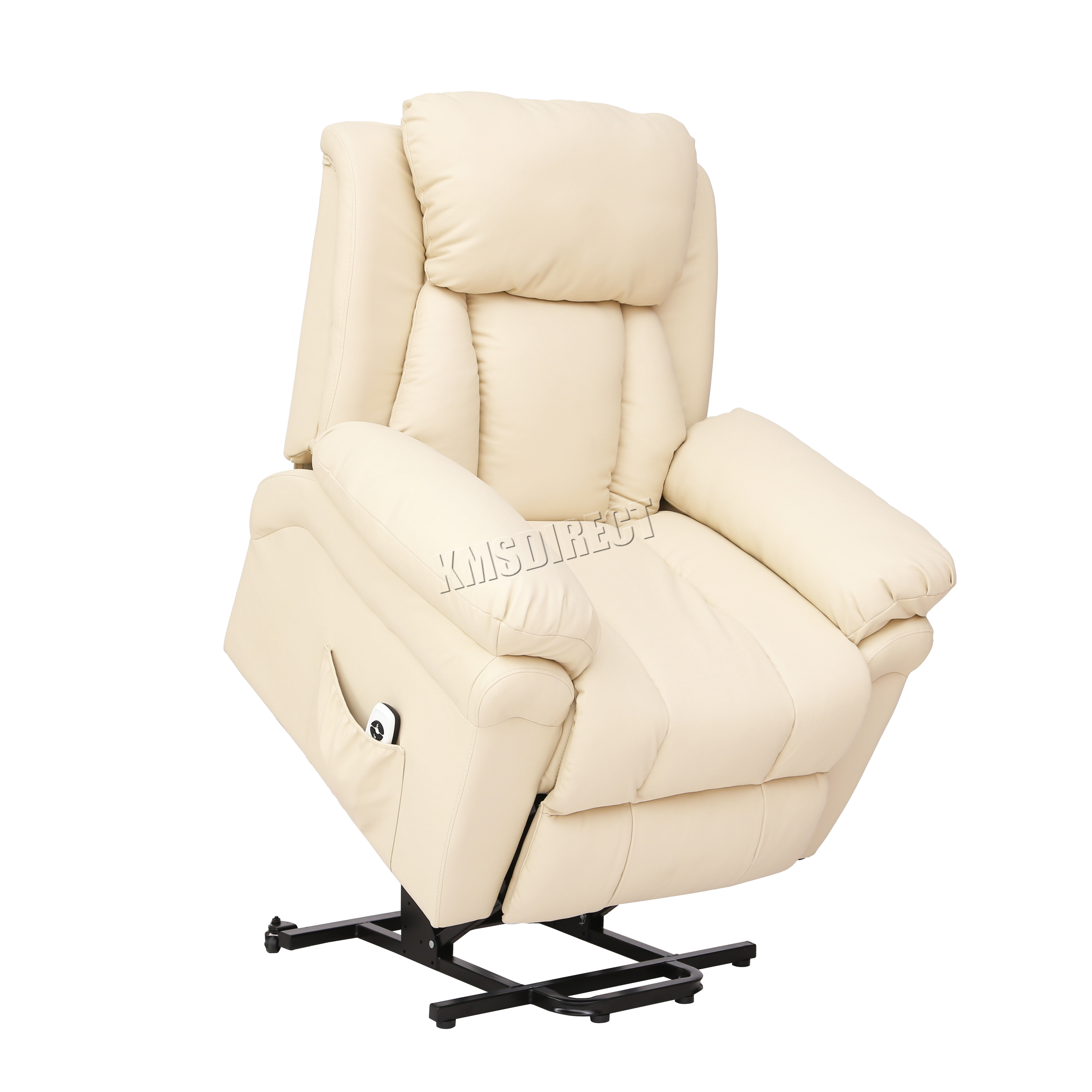 handicap lift chair recliner bistro chairs dining room faux leather massage rise mobility tilt arm