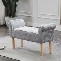 Bedroom Chair With Ottoman Stationery Office Foxhunter Fabric Bench Footstool Seat Pouf Pouffee