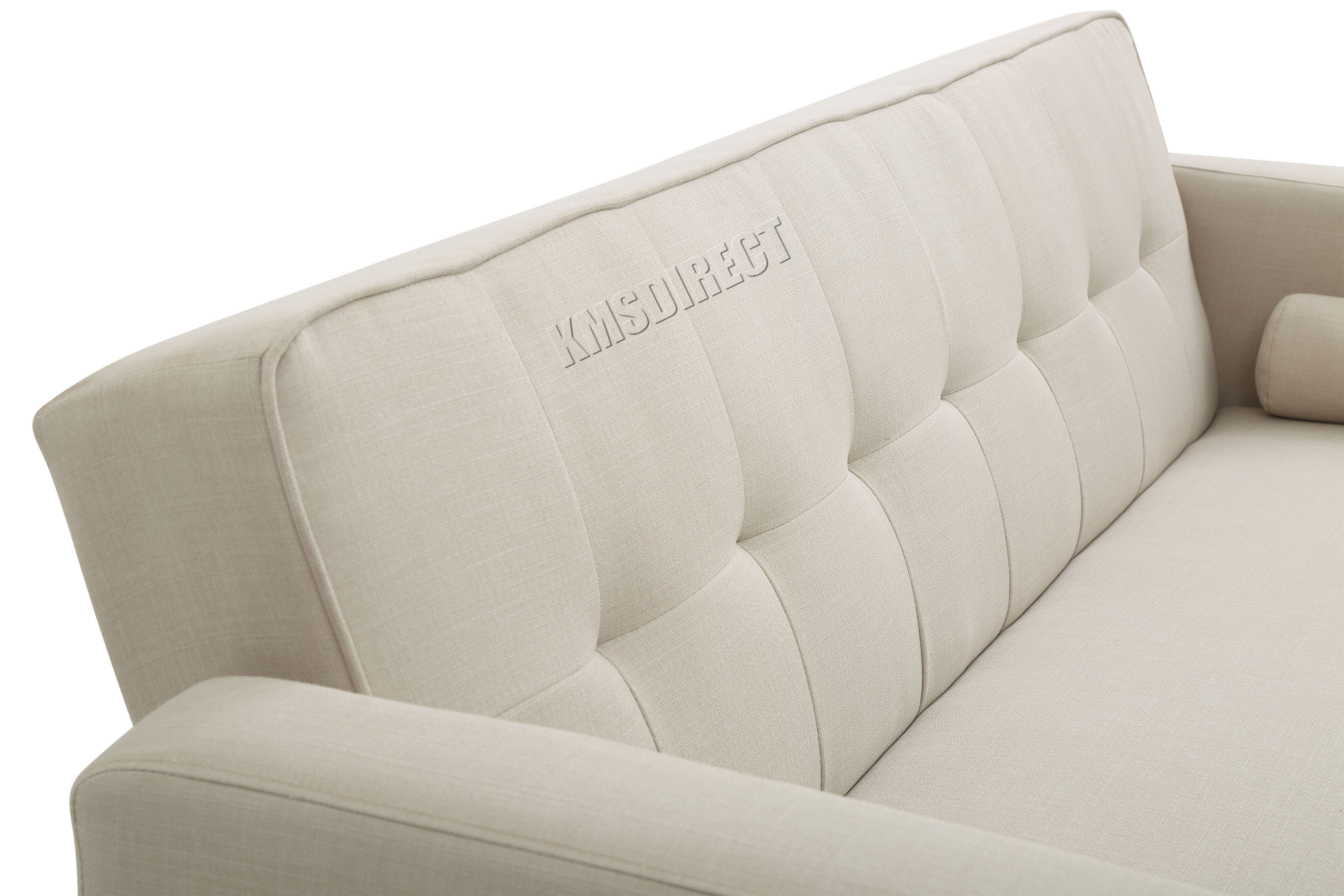 rialto fabric futon sofa bed chalk painted table westwood 3 seater couch luxury home