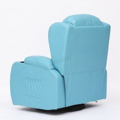 Turquoise Chairs Leather Electric Recliner Argos Foxhunter Massage Sofa Chair Rocking Mls