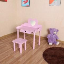 Professional Makeup Chair Uk P Pod Accessories Foxhunter Kids Girls Dressing Table Set