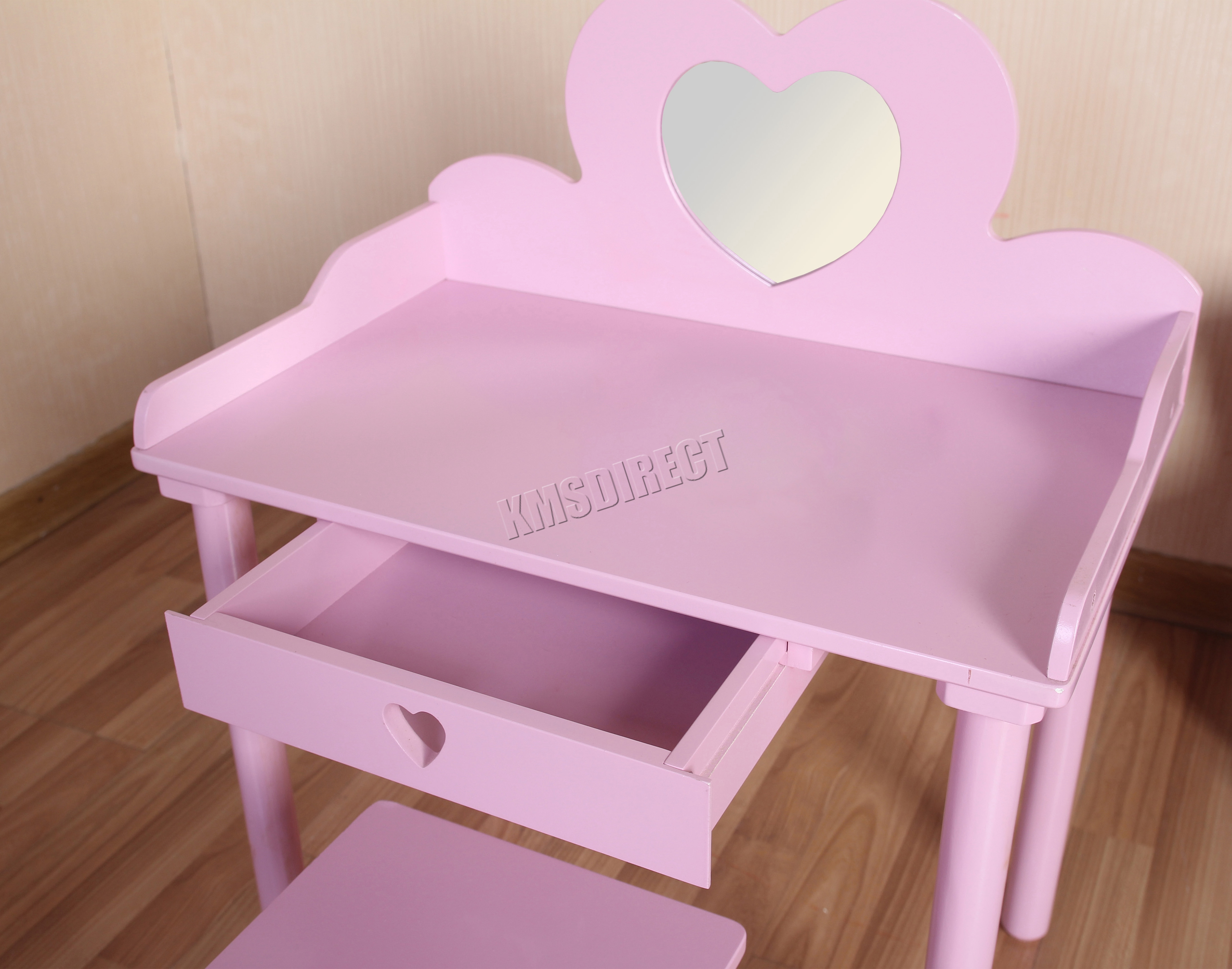 bedroom chair table set portable lift device foxhunter kids girls dressing makeup