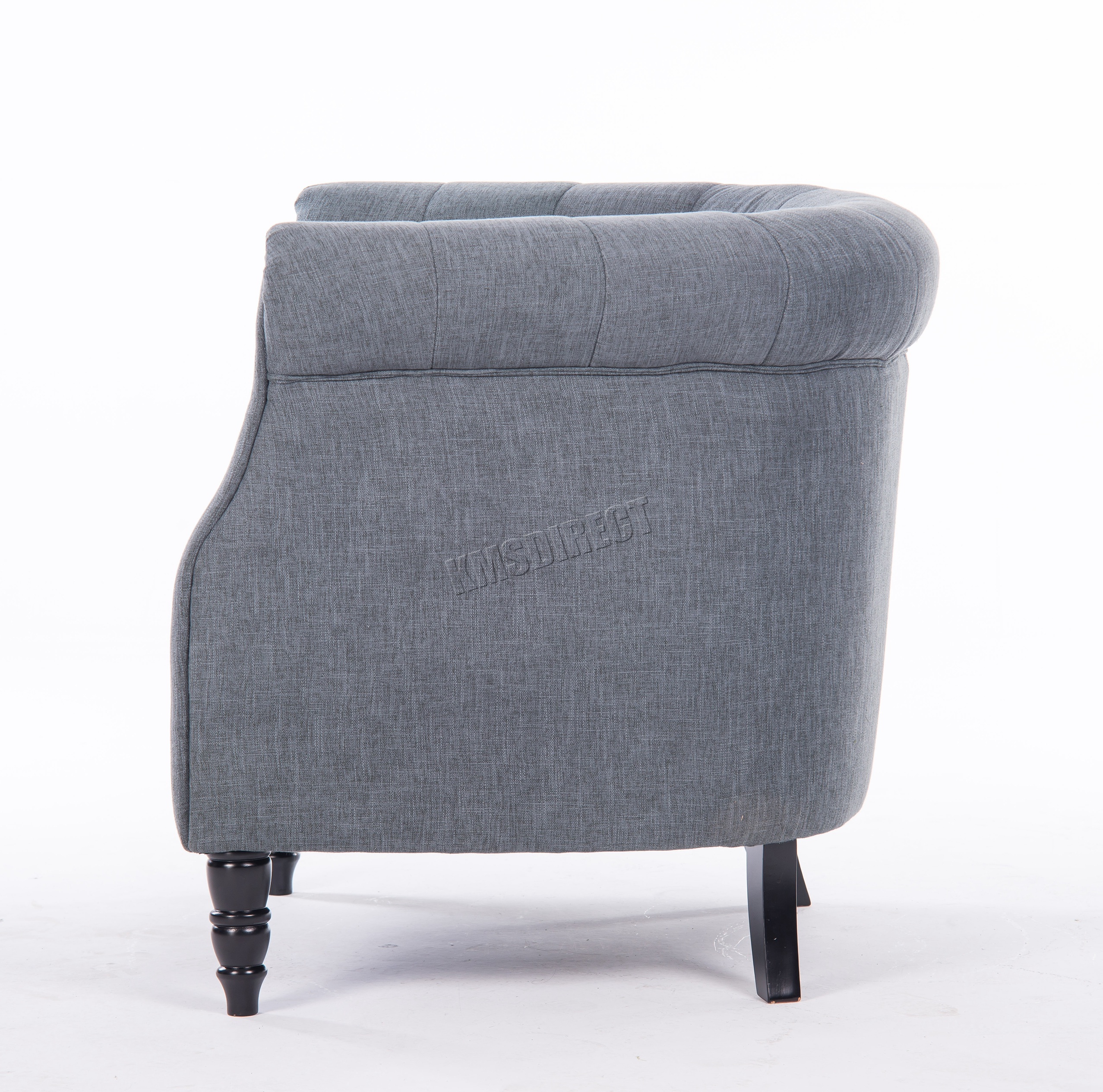 tub chair grey and a half slip cover westwood linen fabric armchair dining living