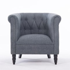 Tub Chair Covers Ebay Alternative To For Wedding Westwood Linen Fabric Armchair Dining Living