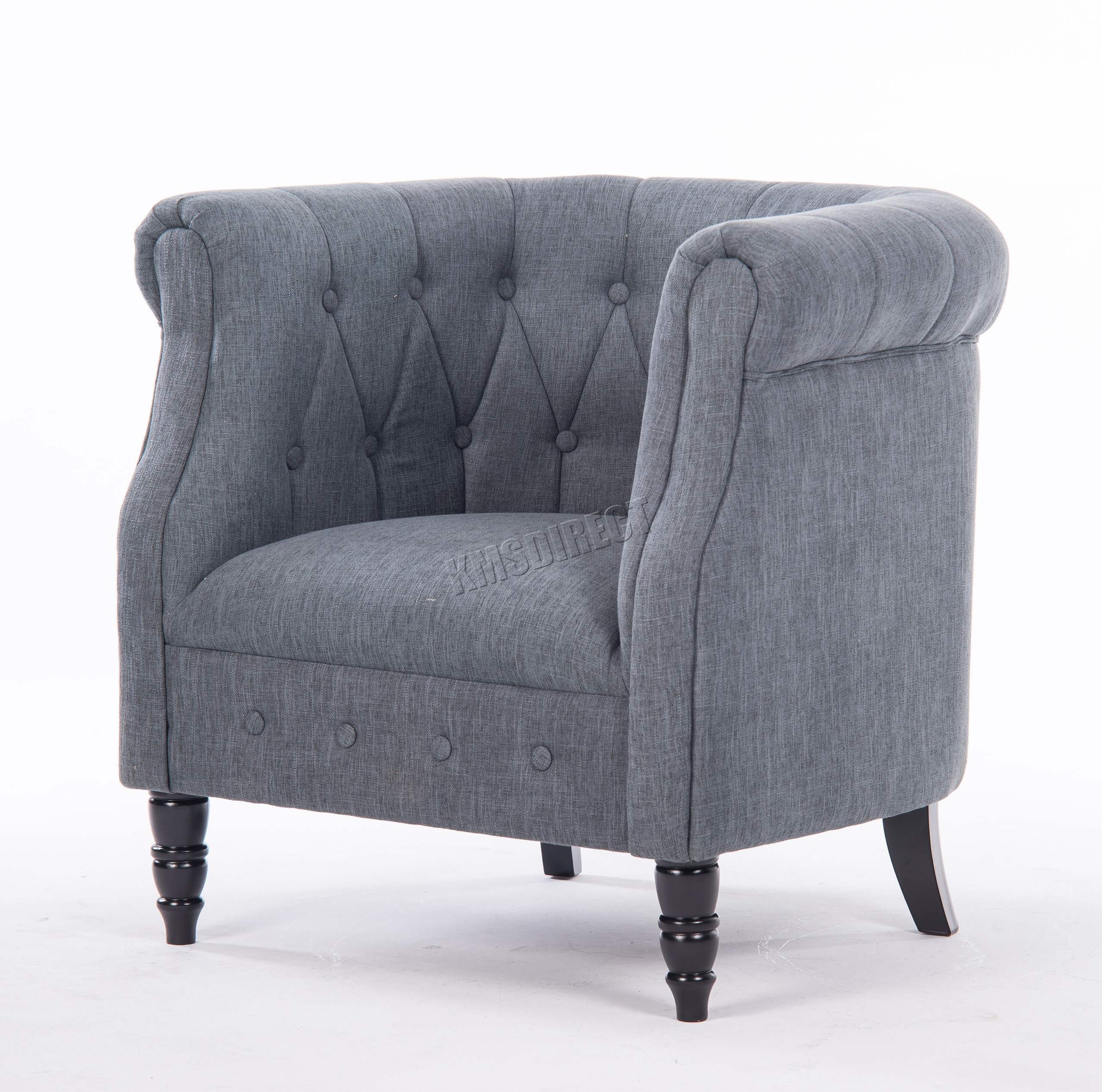 tub chair grey dixie company westwood linen fabric armchair dining living