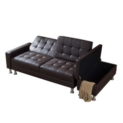 Next Day Sofas Customer Reviews Leather On Clearance Foxhunter Pu Sofa Bed With Storage 3 Seater Guest Sleeper
