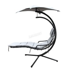 Hanging Chair Ebay Leather Reupholstery Cost Foxhunter Garden Swing Hammock Helicopter