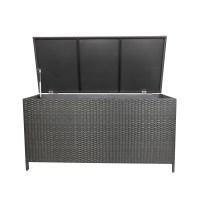 WestWood Garden Furniture Rattan Storage Box Woven Chest ...