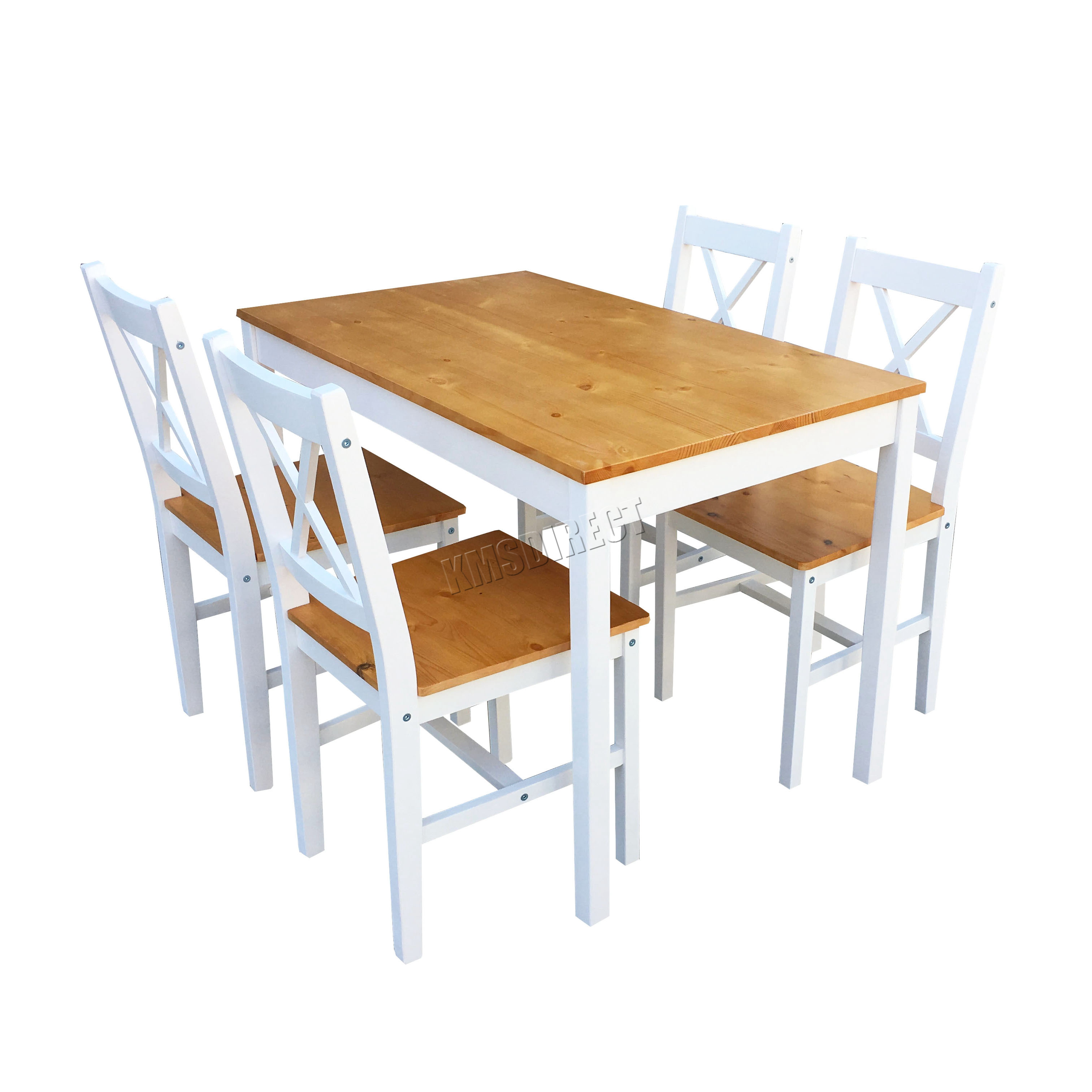 solid wood kitchen chairs swing chair abu dhabi westwood quality wooden dining table and 4