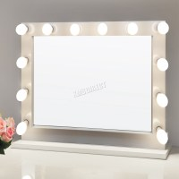 FoxHunter Makeup Mirror LED 12 Bulbs Light Cosmetic Beauty ...
