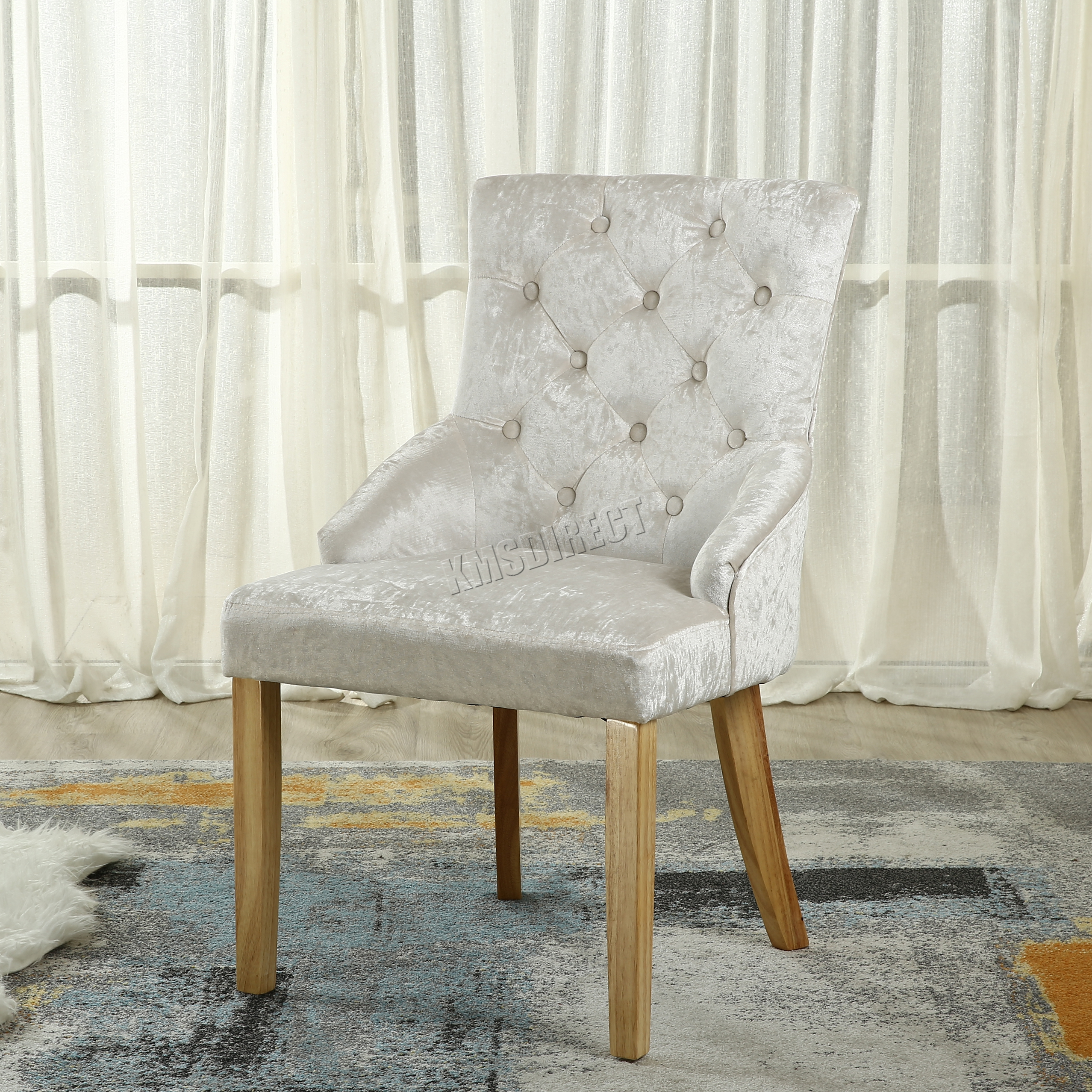 distressed leather dining chairs uk best rated high chair foxhunter modern crush velvet fabric scoop