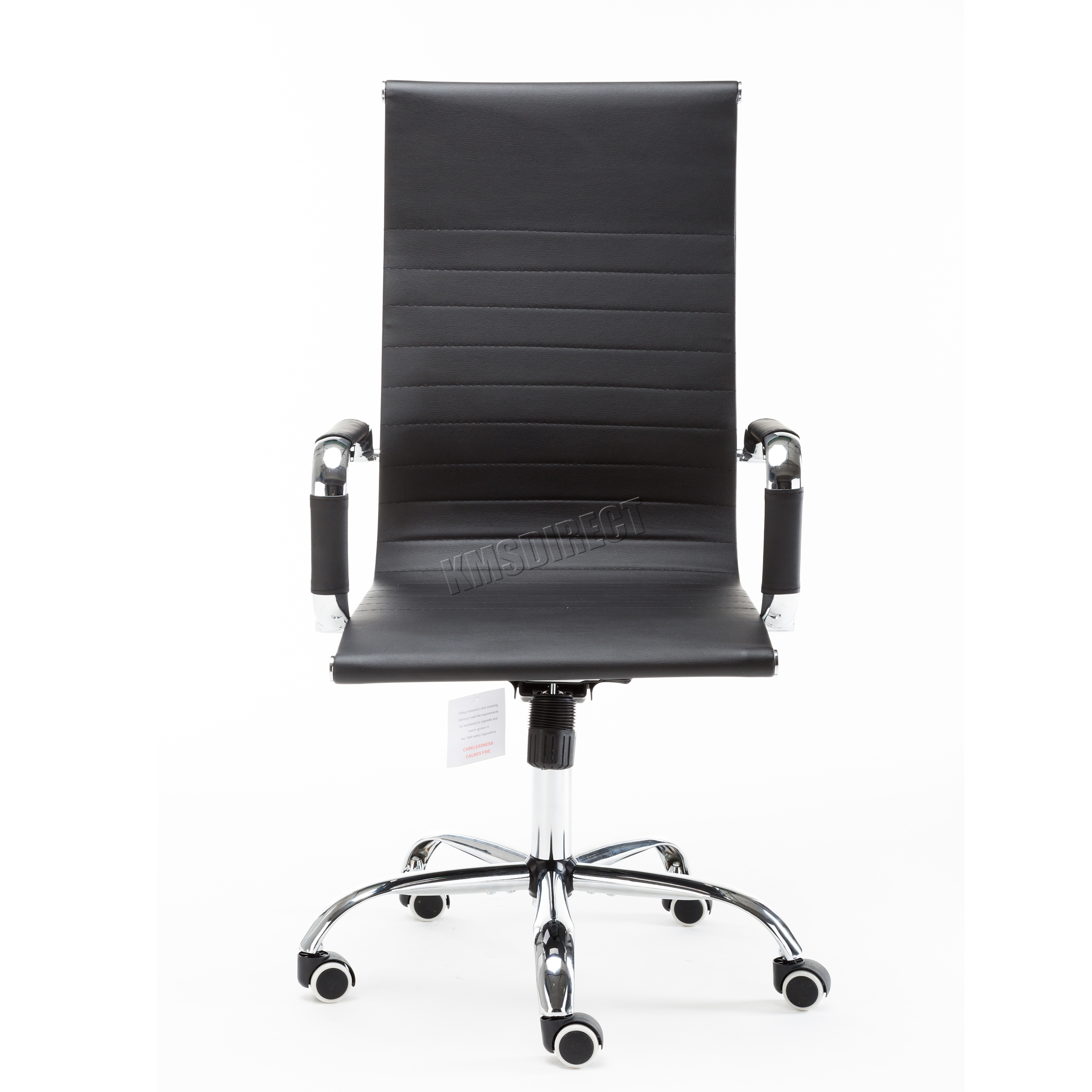 white swivel desk chair uk stokke high foxhunter home computer office faux leather pu