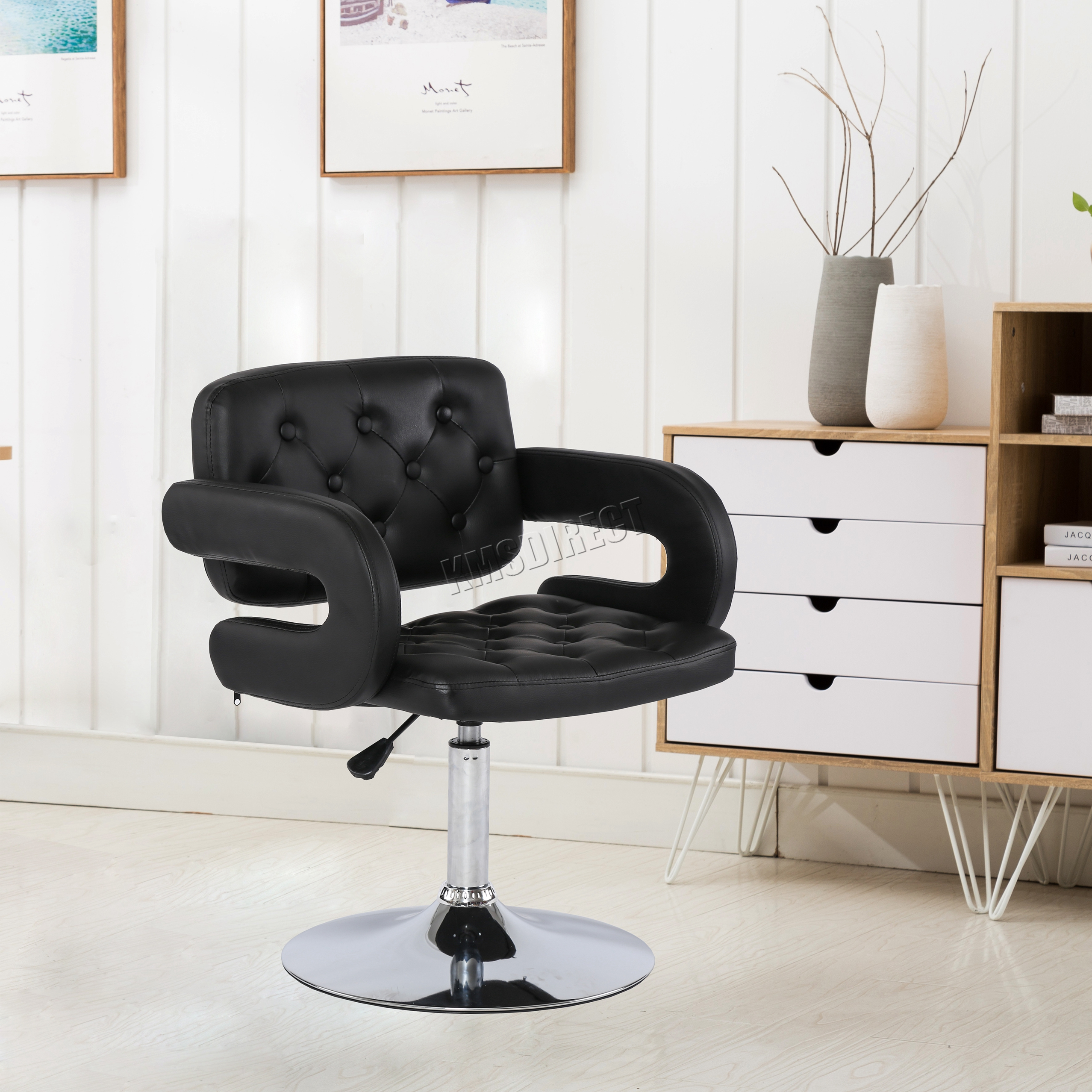 Cosmetology Chair Foxhunter Beauty Salon Chair Barber Hairdressing Hair Cut