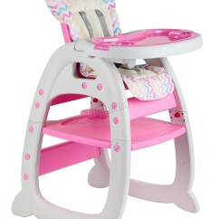 Baby Highchair 3 In 1 Folding Chair Dunelm Foxhunter Infant High Feeding Seat 3in1