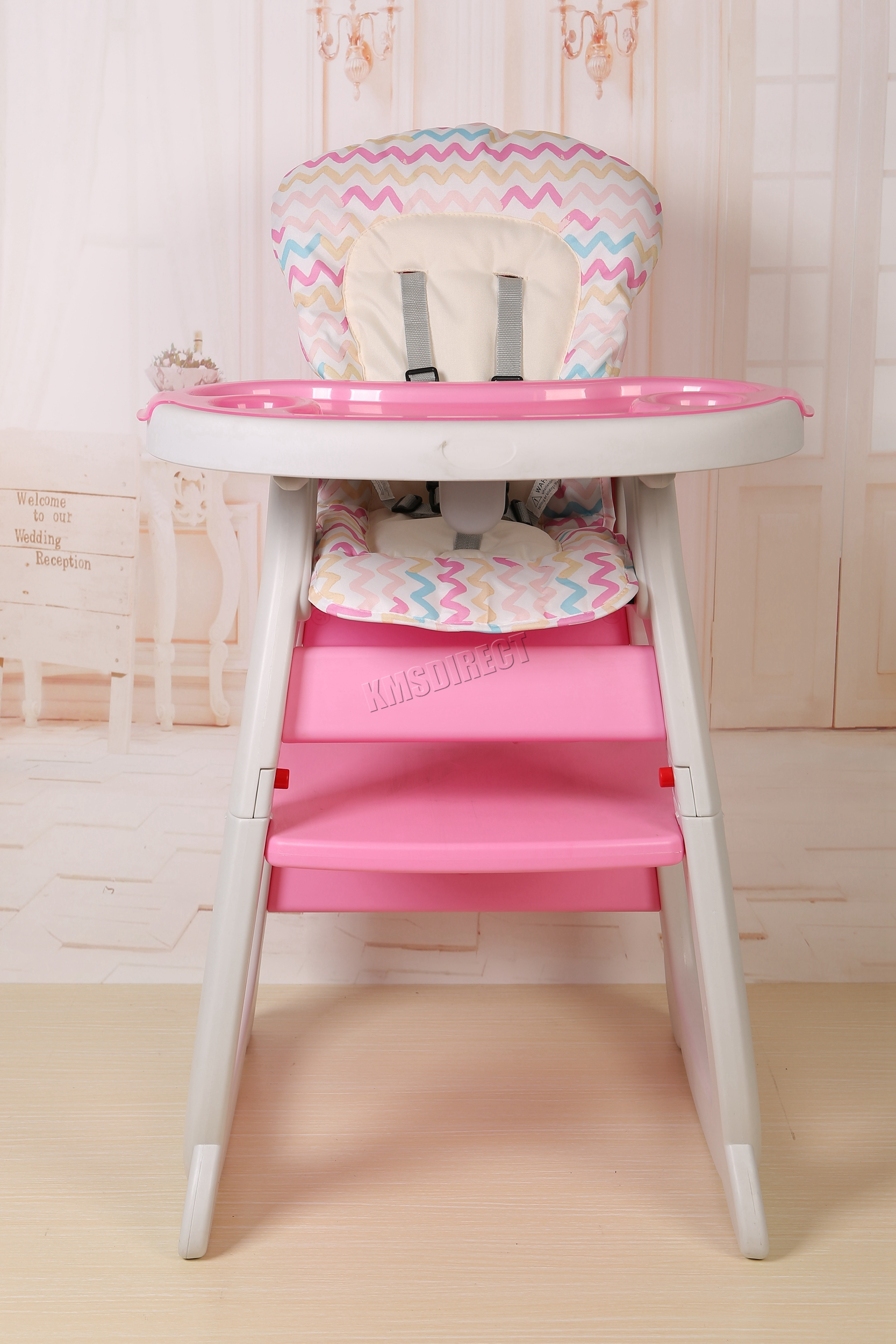 toddler high chair seat shower with wheels and removable arms foxhunter baby highchair infant feeding 3in1