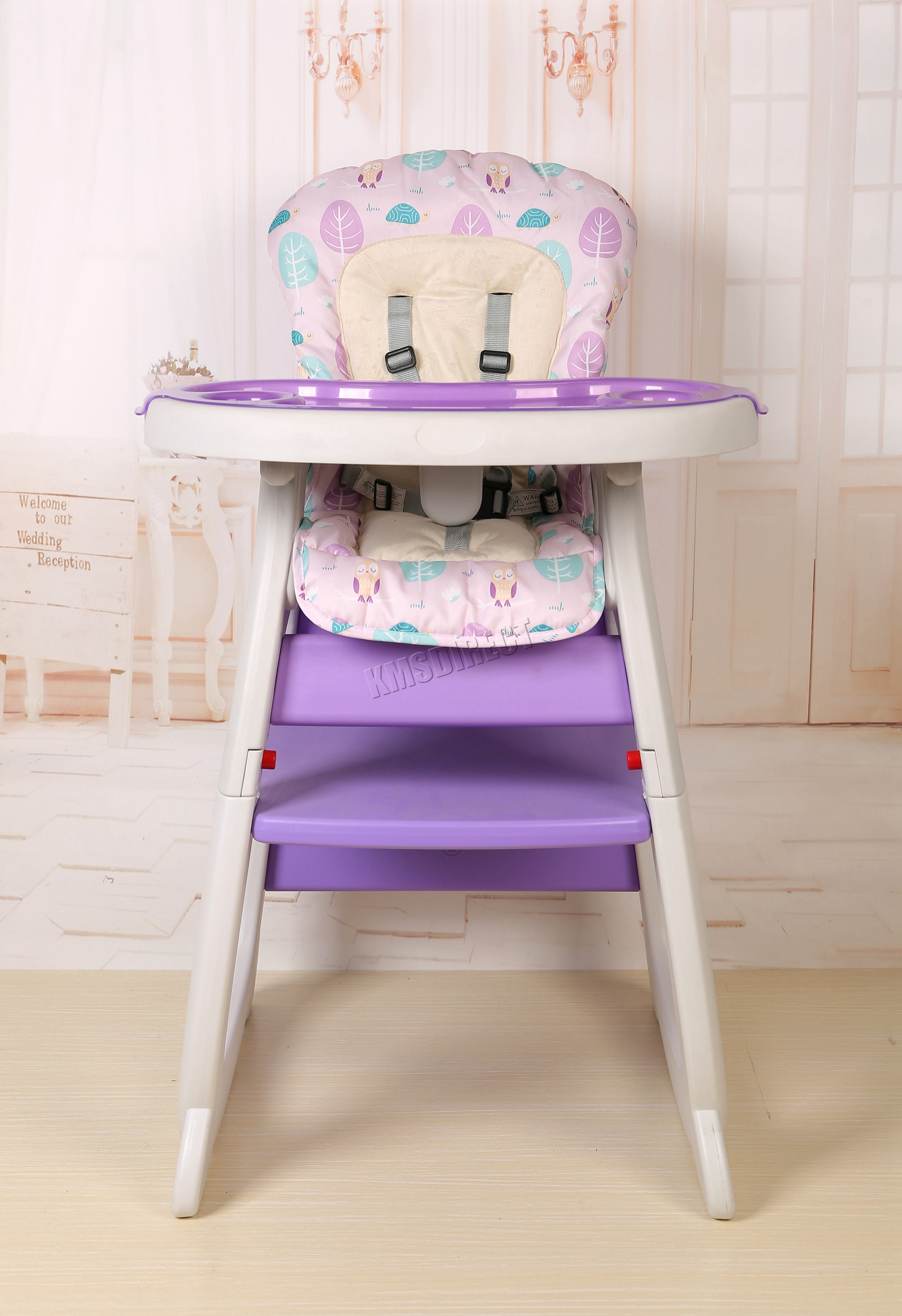 baby table chair dining set with upholstered chairs foxhunter highchair infant high feeding seat 3in1